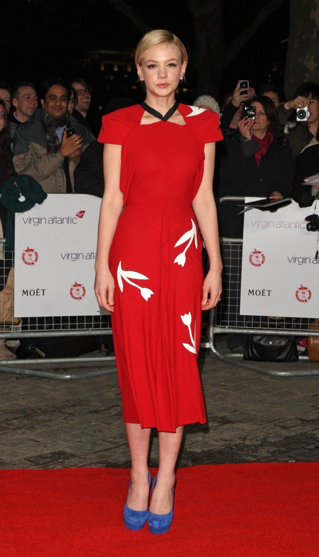 Carey Mulligan The Critics Circle Film Awards London