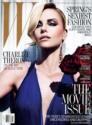 Charlize Theron - W February 2012