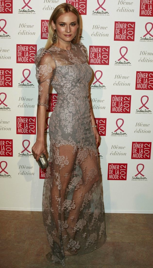 Diane Kruger Sidaction AIDS Gala Paris