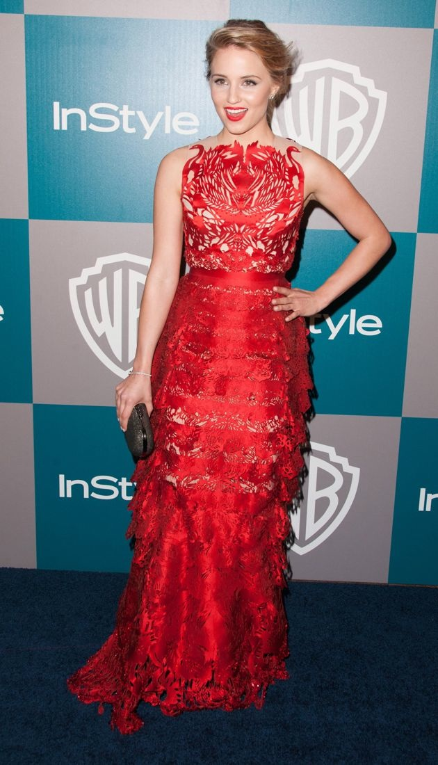 Dianna Agron 13th Annual Warner Bros and InStyle After Party Los Angeles