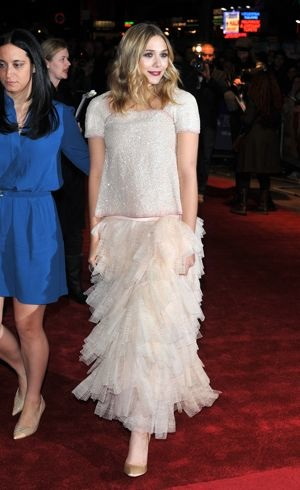 Elizabeth Olsen 55th BFI London Film Festival Martha Marcy May Marlene screening Oct 2011