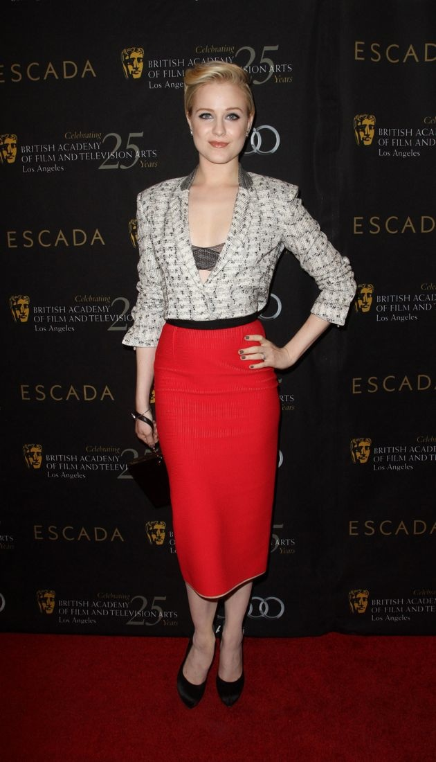 Evan Rachel Wood BAFTA Los Angeles 18th Annual Awards Season Tea Party