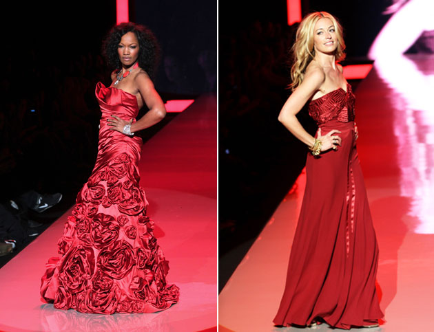 Garcelle Beauvais in Monique Lhuillier and Cat Deeley in Alberta Ferretti