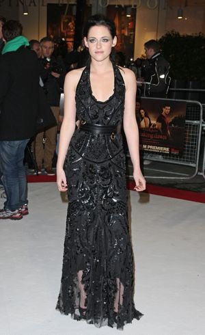 Kristen Stewart The Twilight Saga Breaking Dawn Part 1 film premiere London Nov 2011
