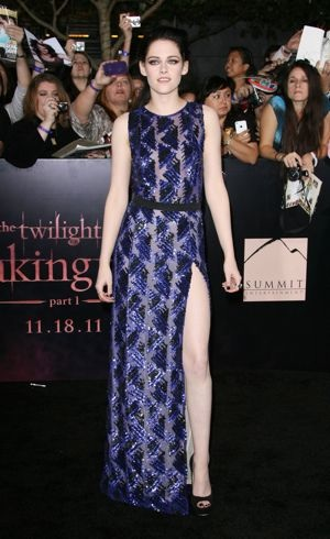 Kristen Stewart The Twilight Saga Breaking Dawn Part 1 World Premiere Los Angeles Nov 2011