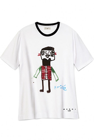 Marni H&M tee for Japan relief Red Cross