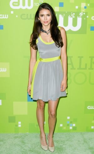 Nina Dobrev 2011 CW upfront presentation New York City May 2011