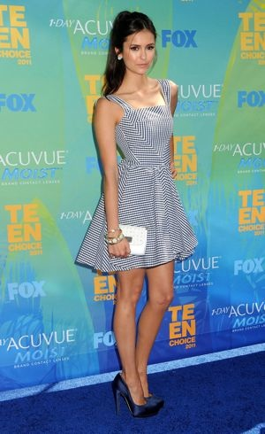 Nina Dobrev 2011 Teen Choice Awards Universal City Aug 2011