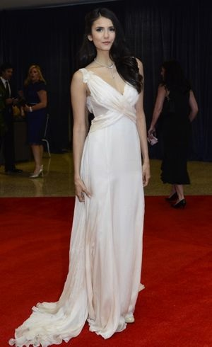 Nina Dobrev 2011 White House Correspondents Dinner April 2011