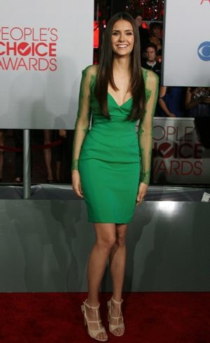 Nina Dobrev 2012 Peoples Choice Awards Los Angeles Jan 2012