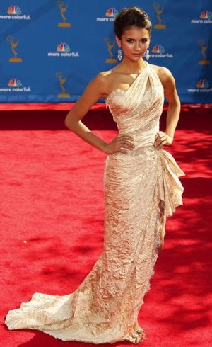 Nina Dobrev 62nd Annual Primetime Emmy Awards Aug 2010