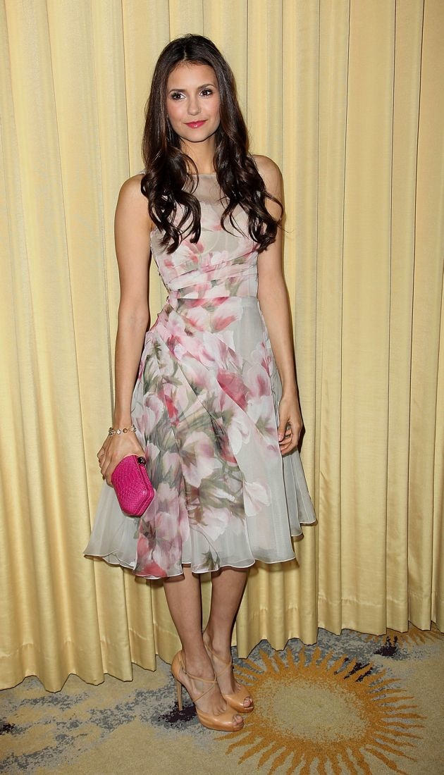 Nina Dobrev Forevermark & InStyle Beauty & Brilliance Celebration Beverly Hills