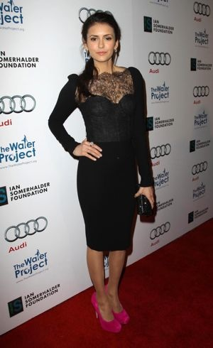 Nina Dobrev The Ripple Effect Benefiting The Water Project Charity Los Angeles Dec 2011