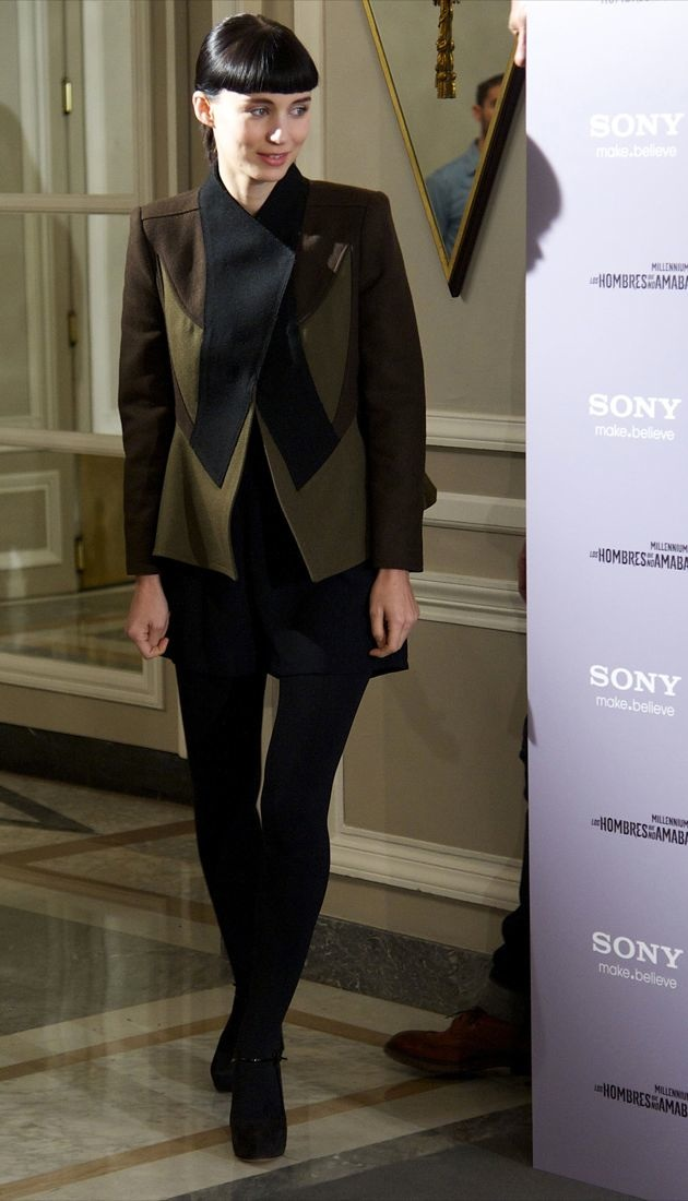 Rooney Mara The Girl With The Dragon Tattoo Photocall Madrid