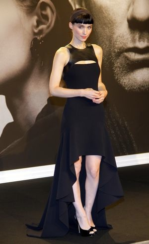Rooney Mara at the German premiere of The Girl With The Dragon Tattoo Jan 2012