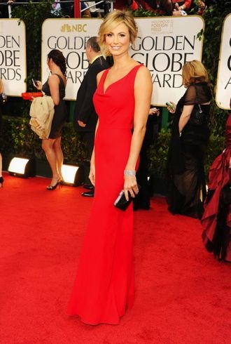 Stacy Keibler Fashionably Breaking Through TheFashionSpot