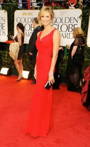 Stacy Keibler 69th Annual Golden Globe Awards Jan 2012