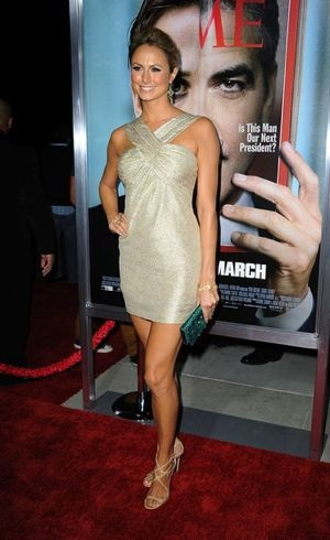 Stacy Keibler Premiere Ides of March Sept 2011