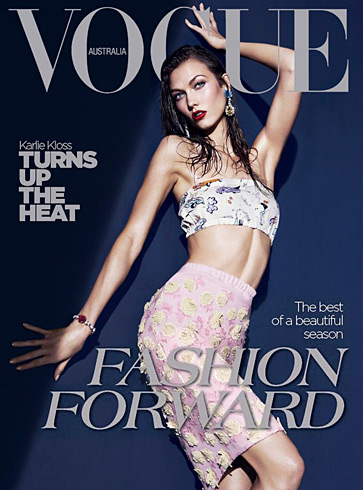 Vogue Australia - Karlie Kloss March 2012