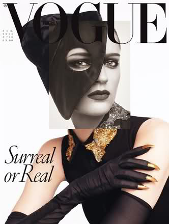Vogue Italia Feb 2012 - Laura Kampman by Steven Meisel