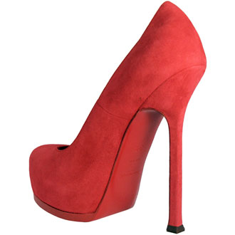 YSL Red Soled Shoe