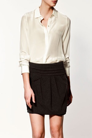 Zara silk blouse - forum shopaholics