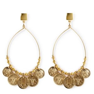 Jenny Bird Wanderlust Hoops in Gold