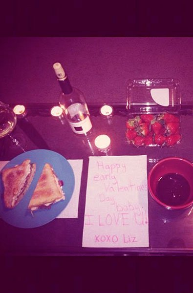 Day 2, surprise him with a romantic dinner