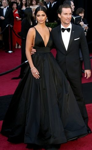 Camila Alves and Matthew McConaughey 83rd Annual Academy Awards Los Angeles Feb 2011