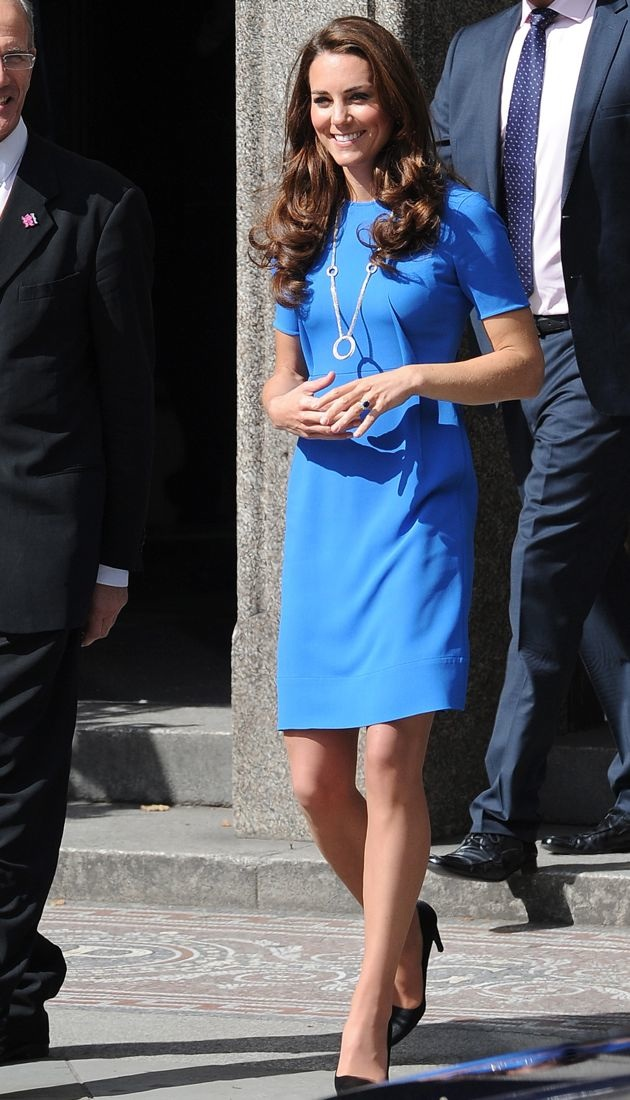 Catherine Duchess of Cambridge Road to 2012 Aiming High Exhibition London