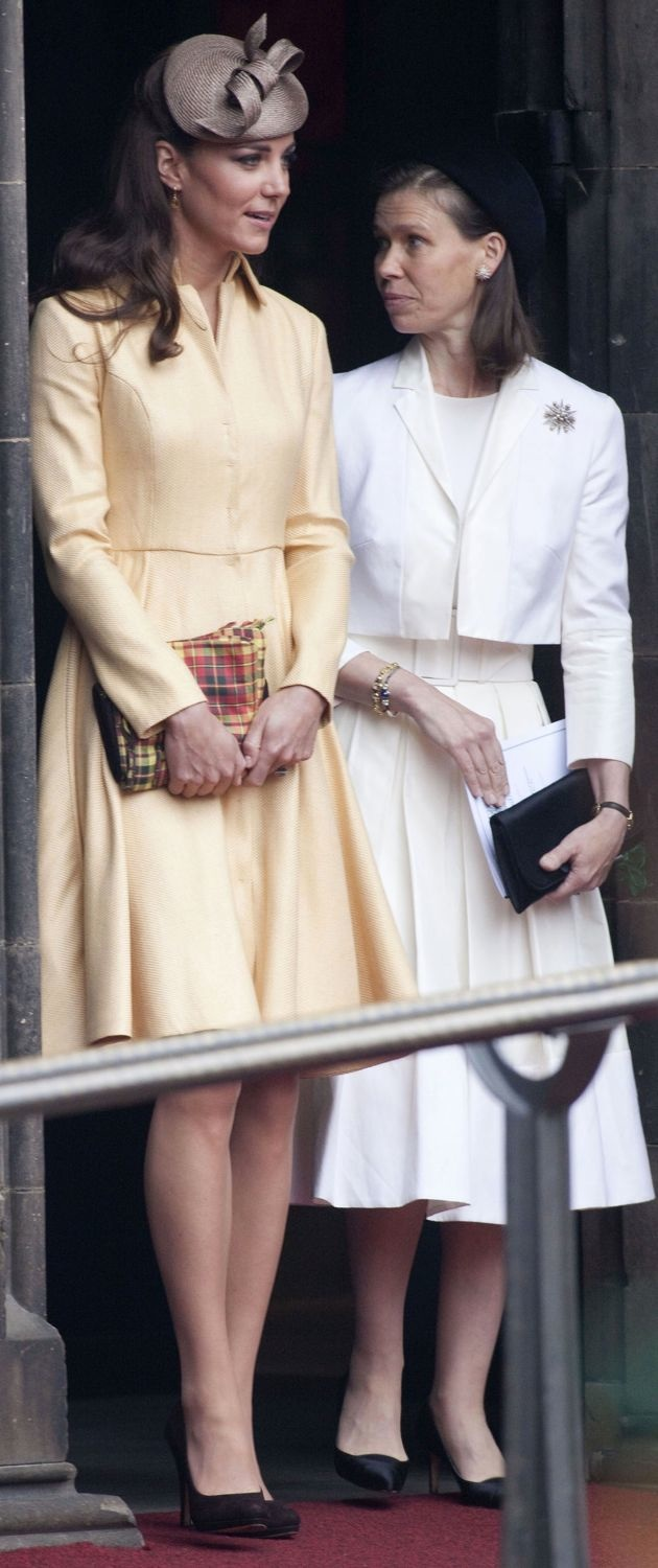 Catherine Duchess of Cambridge St Giles Cathedral Thistle Ceremony Edinburgh