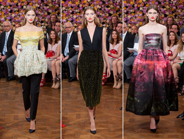 Dior Haute Couture under Raf Simons - Fall/Winter 2012-2013