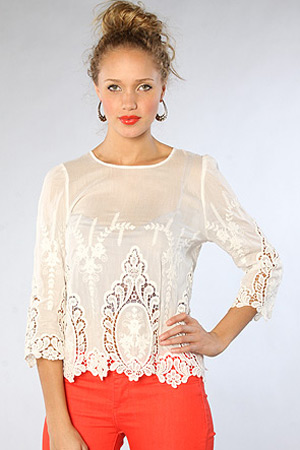 forum buys - Dolce Vita blouse