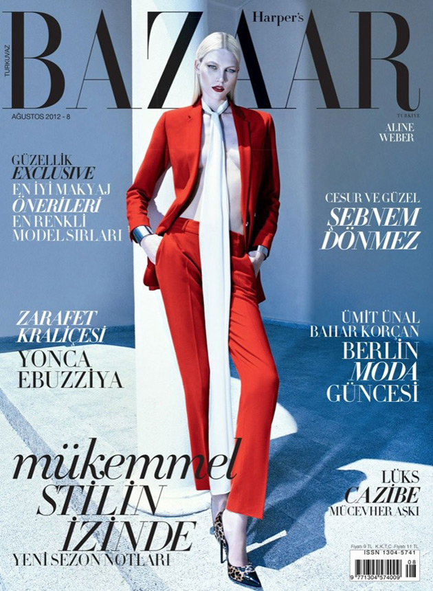 Harper's Bazaar Turkey Trumps Vogue Turkey in the August Cover War