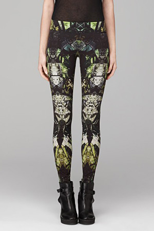 forum buys - Helmut Lang printed leggings