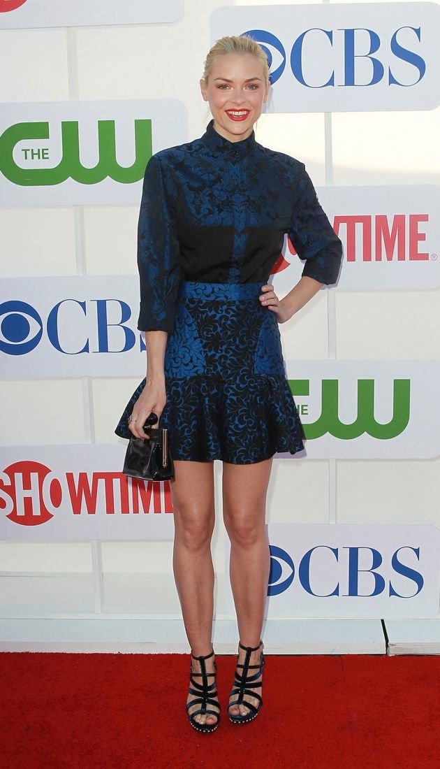 Jaime King CBS Showtime CW Summer 2012 Press Tour Beverly Hills