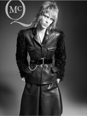 McQ Fall 2012 - Aymeline Valade by David Sims
