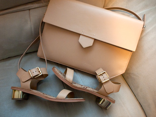 forum buys - Sam Edelman sandals, Zara bag