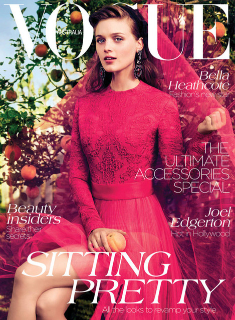 Vogue Australia - Bella Heathcote by Will Davidson