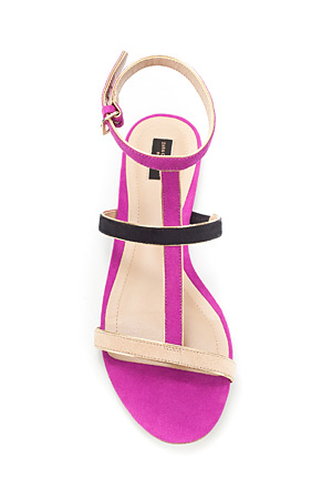 forum buys - Zara pink sandals