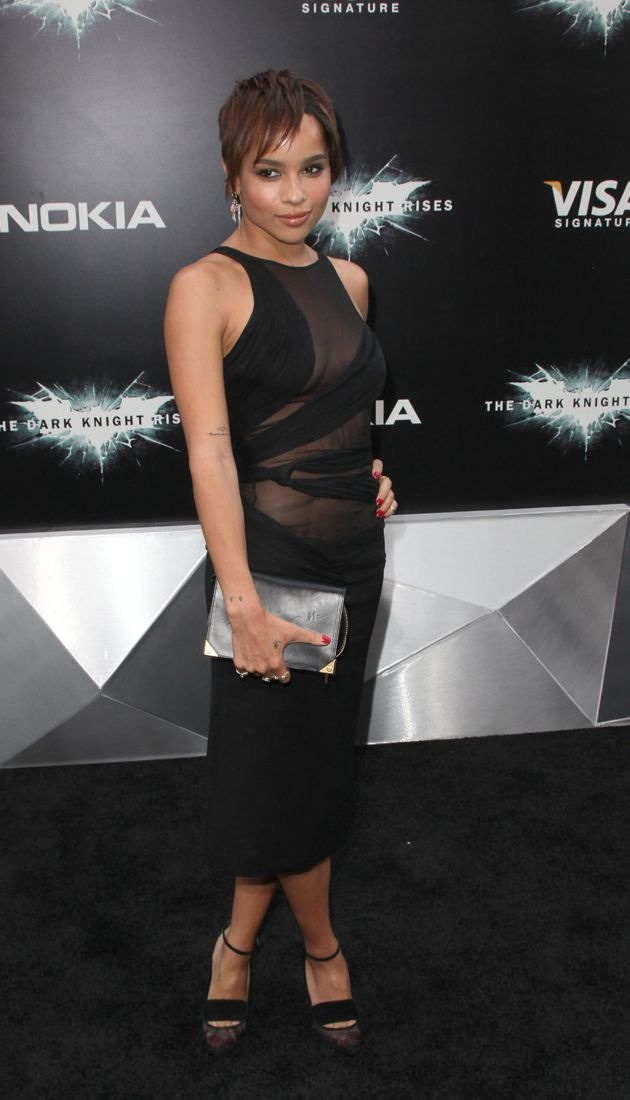 Zoe Kravitz The Dark Knight Rises New York Premiere