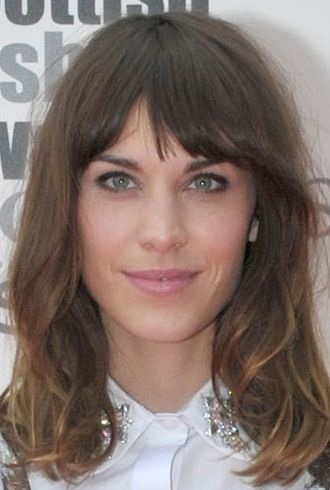 Alexa Chung Scottish Fashion Awards Glasgow cropped