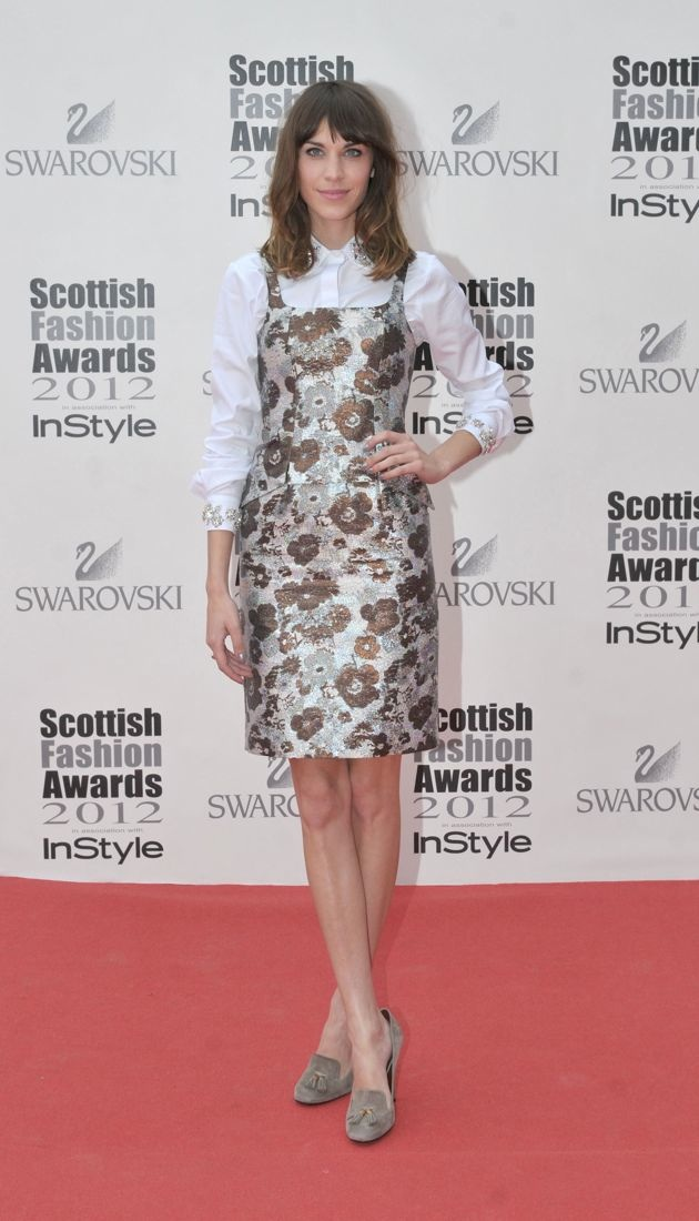 Alexa Chung Scottish Fashion Awards Glasgow