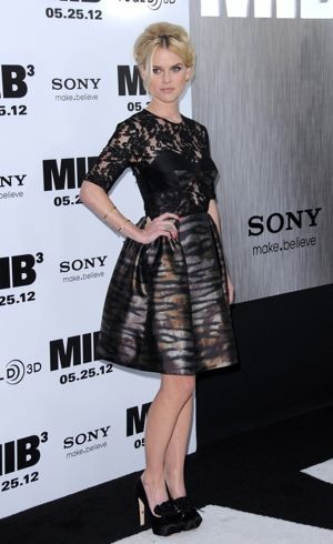Alice Eve Men in Black 3 New York premiere May 2012