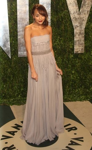 Ashley Madekwe 2012 Vanity Fair Oscar Party Los Angeles Feb 2012