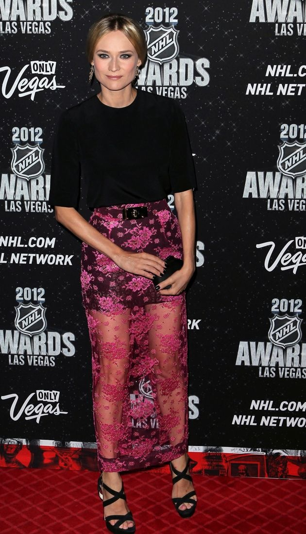 Diane Kruger 2012 NHL Awards Las Vegas