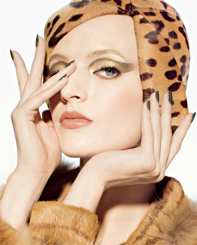 Daria Strokous for Dior Golden Jungle Collection