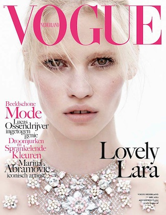 Lara Stone for Dutch Vogue