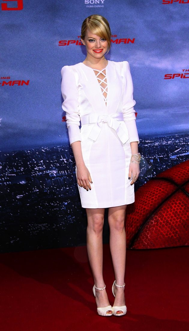 Emma Stone German premiere of The Amazing Spider-Man Berlin