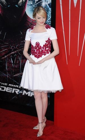Emma Stone Los Angeles premiere of The Amazing Spider-Man June 2012